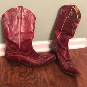 Shoes - Red Sancho Cowboy Boots